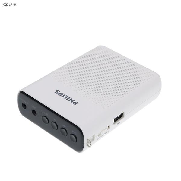 Sbm200 bee loudspeaker teacher dedicated compact portable microphone speaker (white) microphone SBM200