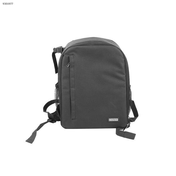 Dslr camera bag, double-shoulder digital camera bag, outdoor lightweight durable nylon camera backpack, black Other N/A