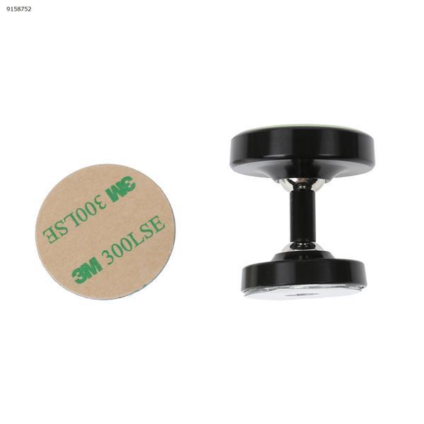 Luminous metal magnetic car holder, aluminum alloy magnetic mobile phone holder(black) Autocar Decorations Y-0099