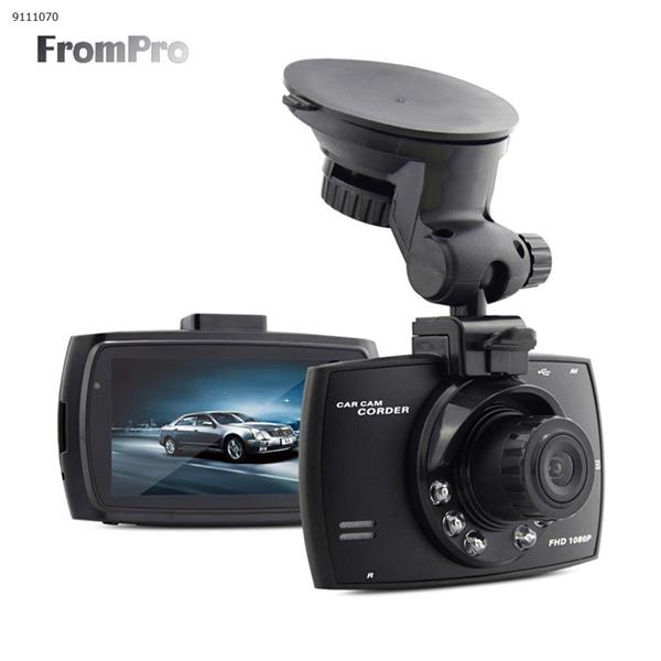 2.4 inch car DVR HD 1920*1080P with 12 infrared LED car CAM video dash camera C600 video recorder car DVR Car Appliances C600