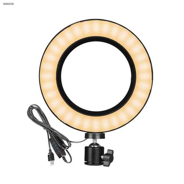 6 inch desktop ring light + leather box packaging LED Ring Light GL206-E2