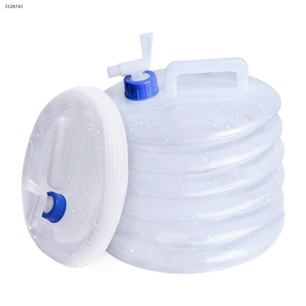 Outdoor travel camping mountaineering portable folding water storage portable bucket 10L Other N/A