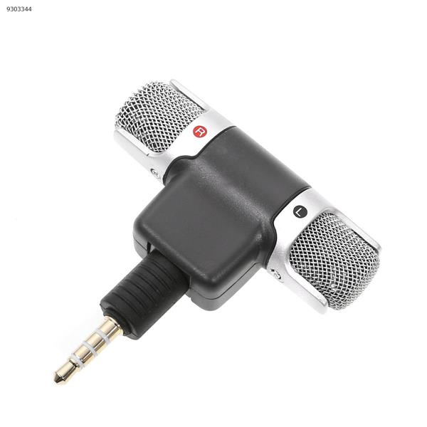 Mini stereo two-channel digital microphone, computer version of the ordinary three-pole plug   Special for four mobile phones Lenses Accessories ECM-DS70P