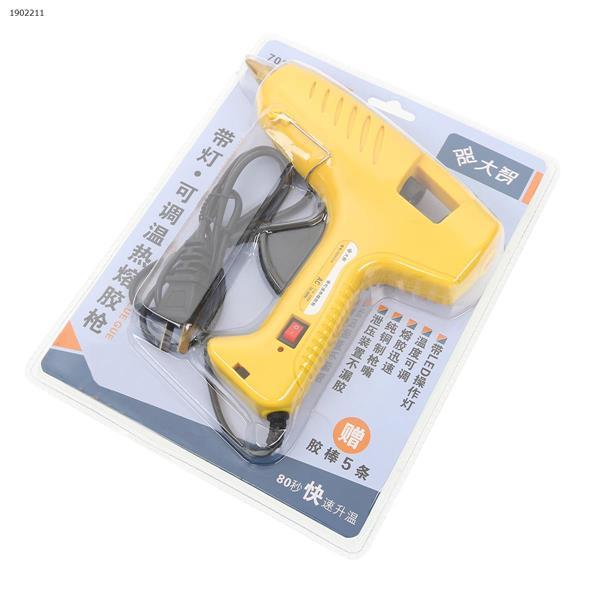 LED Glue Gun (English Standard, Containing 10 Glue Guns) Tool and tool accessories Glue gun (English Standard)