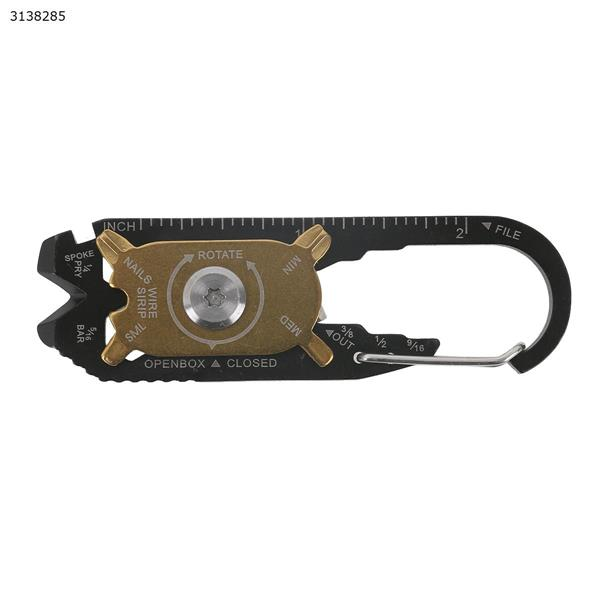 Outdoor 20-in-one multifunctional combination portable keychain EDC tool Other N/A