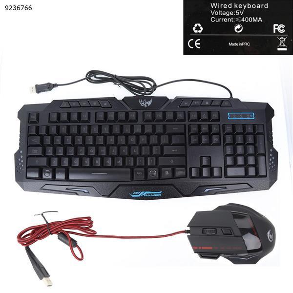 J20 Wired backlit gaming keyboard +mouse Bluetooth keyboard J20