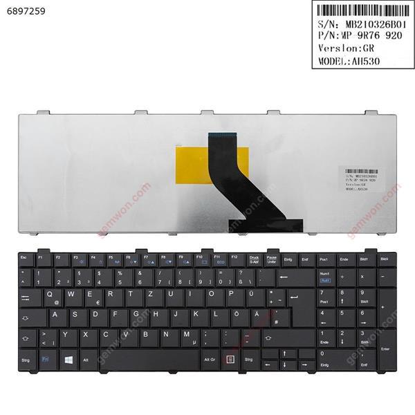 FUJITSU Lifebook A530 AH530 AH531 NH751 BLACK (  black  clasp  , Without foil) GR MP 9R76 920 AH530 Laptop Keyboard (OEM-A)