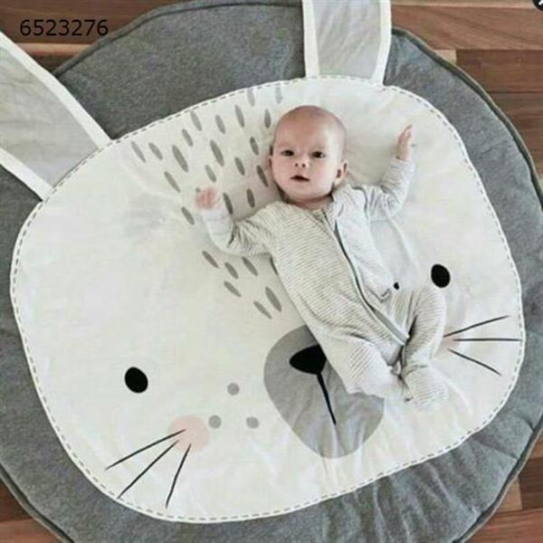 Children's baby game blanket ins explosion rabbit crawling mat rabbit gray carpet N/A