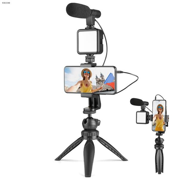 W49S Smartphone Camera Video Microphone Kit, Compatible with Phone,Camera,Camcorder,PC AIXPI Photo& Video Kits W49S KITS
