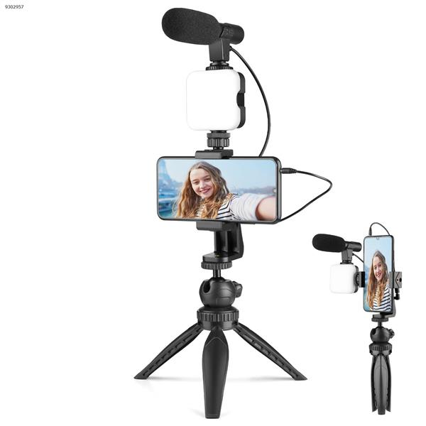 W36 Smartphone Camera Video Microphone Kit, Compatible with Phone,Camera,Camcorder,PC   AIXPI Photo& Video Kits W36 KITS