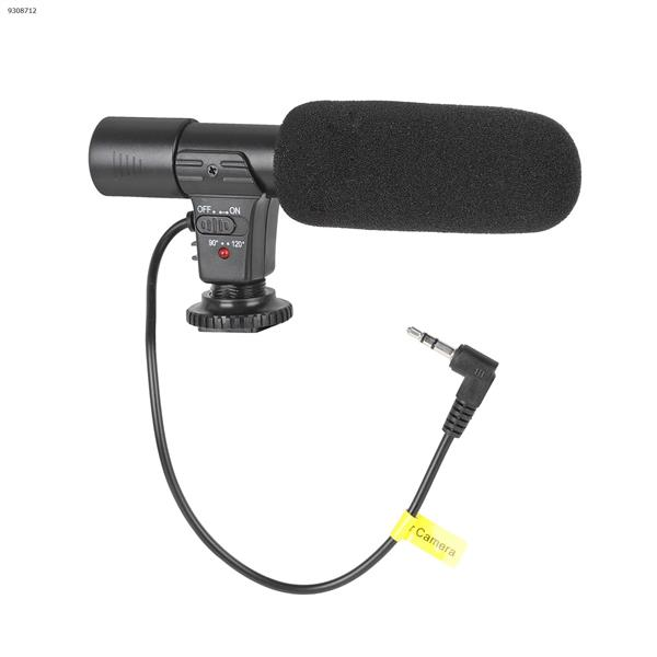 Microphone Digital Video Recording Interview High Fidelity HD Mini Microphone Cell Phone Microphone Lenses Accessories MIC-01