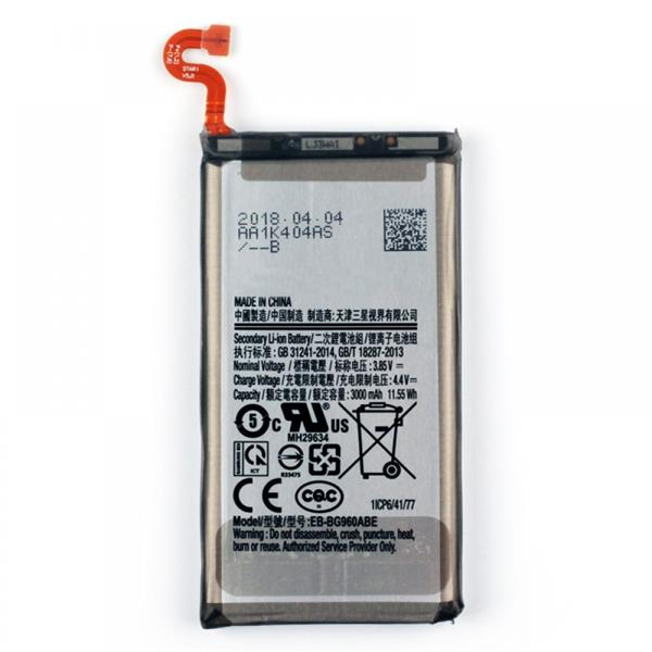 3000mAh Li-Polymer Battery EB-BG960ABE for Samsung Galaxy S9 / G960F / G960A / G960V / G960T / G960U LG Replacement Parts Samsung Galaxy S9