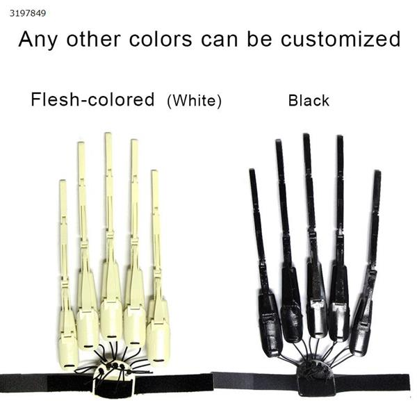 Halloween Articulated Fingers Halloween finger joints outdoor party decoration props White pair Other N/A