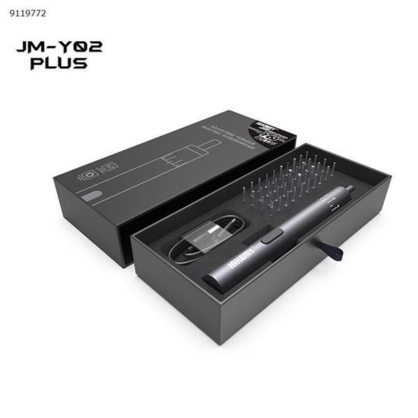 JAKEMY JM-Y02PLUS Power Tools Pen Type Electric Screwdriver Set Adjustable Torque Electric Screwdriver Repair Tools N/A