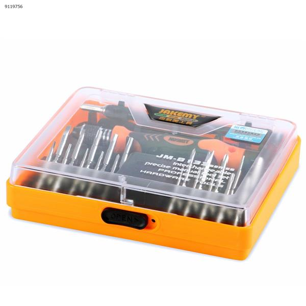 Jackly JM-8133 hardware tool combination screwdriver set, deep hole work long screwdriver, disassemble mobile phone and computer Repair Tools N/A