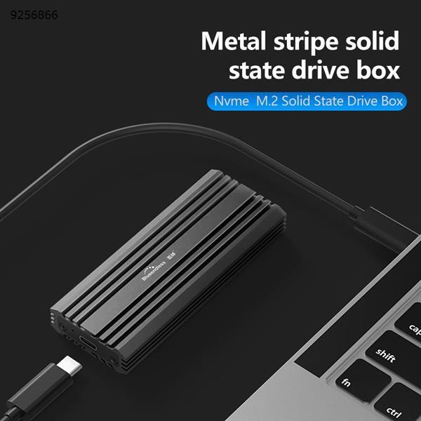 Lan Shuo BS-2807N USB3.1 Type-C GEN2 SSD M2 NVME Case Gray Mobile Storage N/A